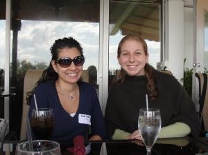 Carmen with Lisa Yoskowitz